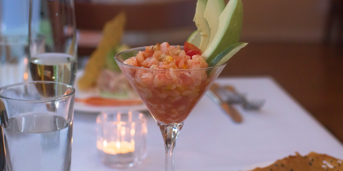 Alloro Shrimp Cocktail