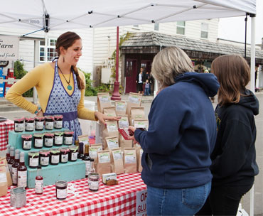 Bandon Cranberry Festival, vendor, artisan food