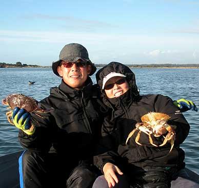 Bandon Crabbing