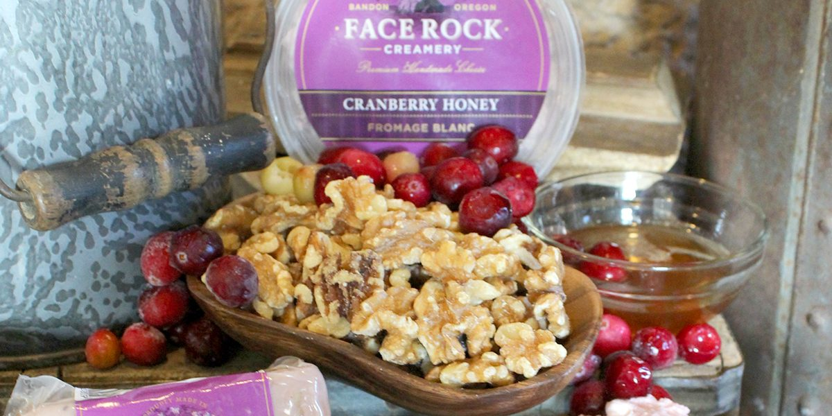 cranberry forage blanc, Face Rock Creamery, Bandon dining, specialty foods, artisan cheese