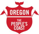 logo oregon coast visitors association