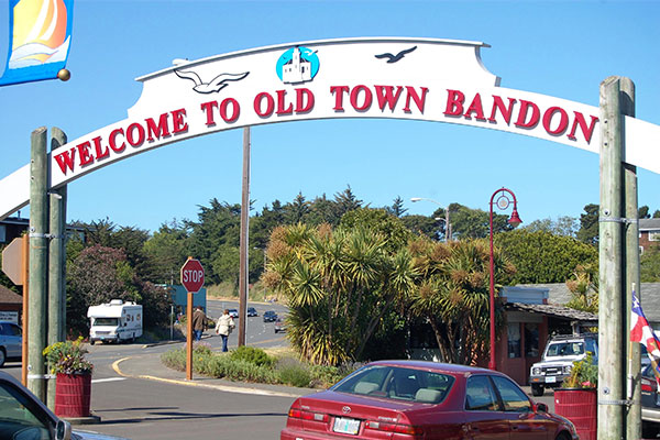 Old Town Bandon banner