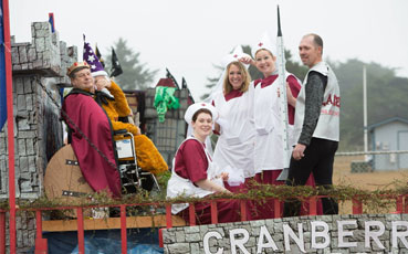 Southern Coos Hospital, Cranberry Festival float parade 2013