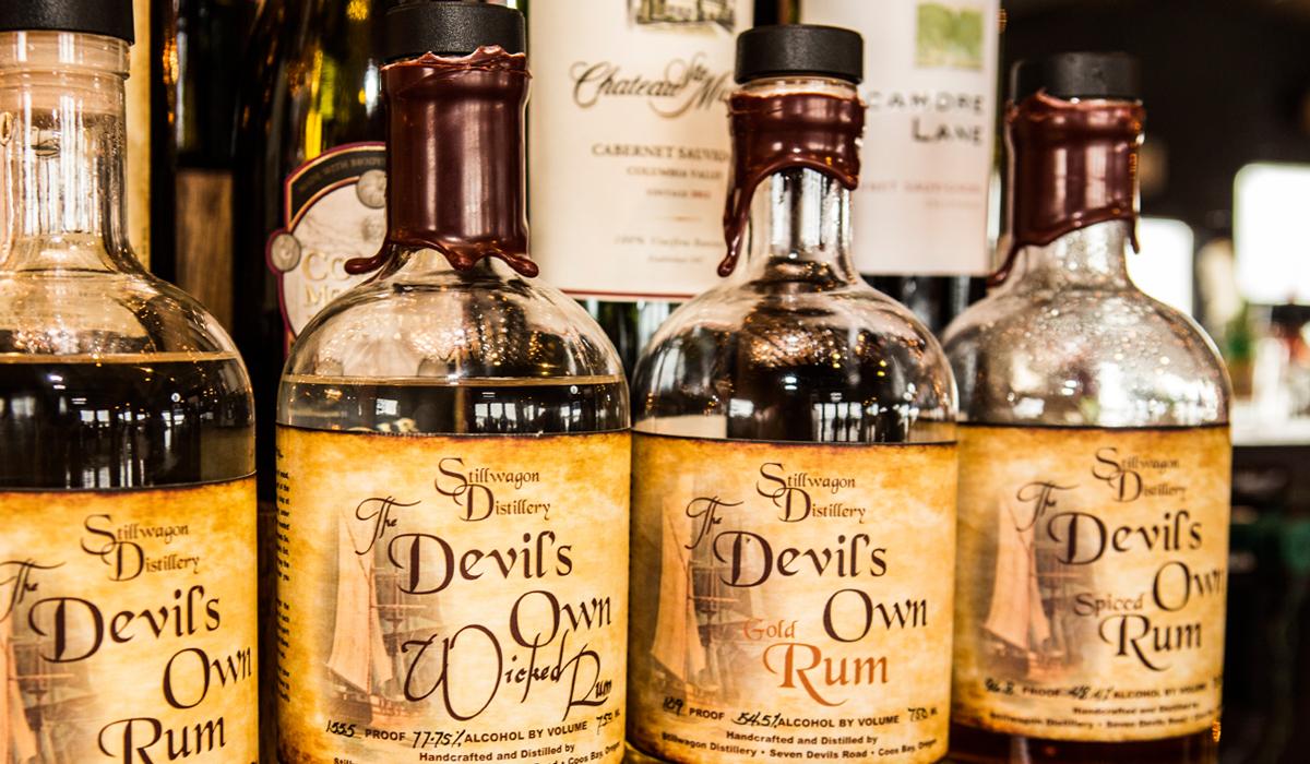 Stillwagon Distillery, Devil's Own Rum