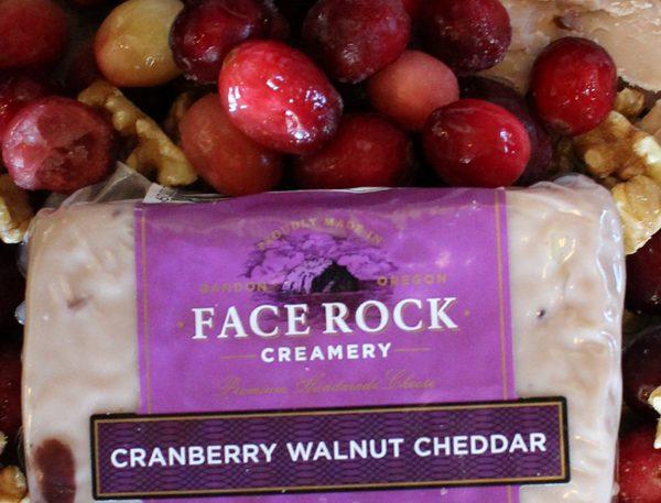 Face Rock Creamery Cranberry Walnut Cheddar Cheese