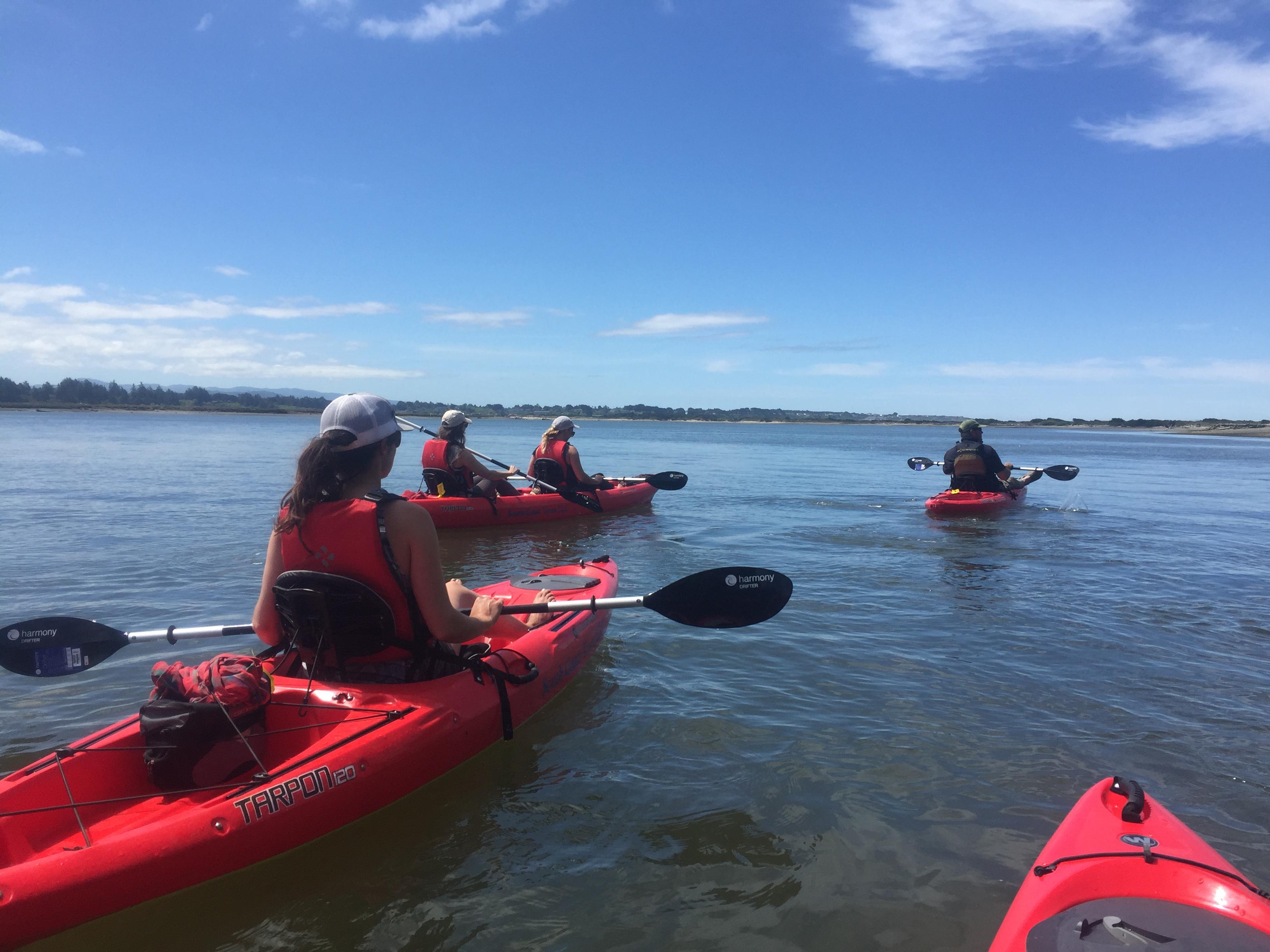 Kayaking at South Slough