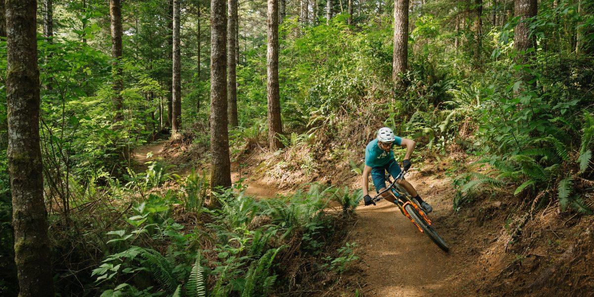 mountain bike trail whiskey run