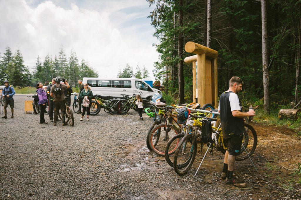 trailhead whiskey run mountain bike trail