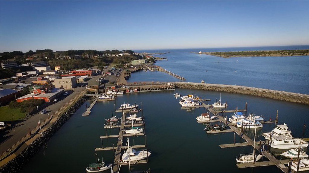 Aerial View of Port of Bandon