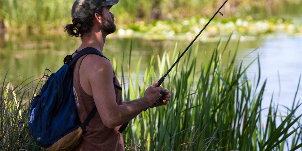bank fishing