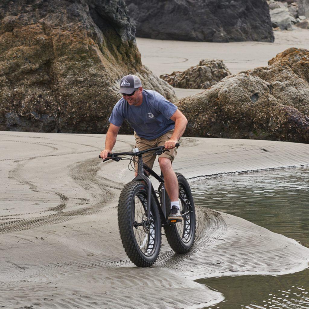 Mixed-Media Bike Trip